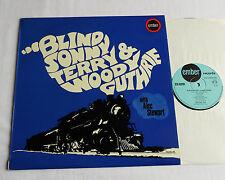 Blind Sonny TERRY & Woody GUTHRIE with Alec STEWART - UK LP EMBER (1969) VG+/EX+