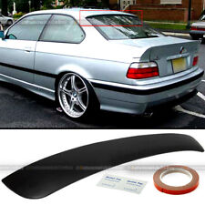 Fit 92-98 BMW 3 Series E36 2DR Primer Ready Rear Window Roof Wing Spoiler Visor