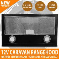 12V Rangehood Touch Control LED LCD Display RV Caravan Motorhome Home