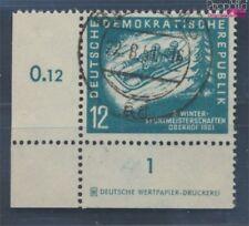 DDR 280DZ oblitéré 1951 championnats de sports d'hiver le DDR (7660605