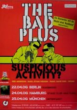 BAD PLUS, THE - 2006 - Tourplakat - Concert - Suspicious Activity - Tourposter