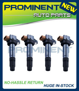 4 Ignition Coils Replacement for 09-14 Suzuki Swift SX4 Crossover Kizashi