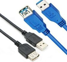 Super Fast USB 3.0 Extension Cable Metre / USB 2.0 Lead 1M/1.5M/2M/3M Meter lot