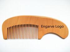 Customize Logo-Wood Comb Hair/Beard Care Makeup Brush Massage Wholesale