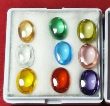 Powerful Nok Phra Gow 9 Colors Lucky Gems Naga Eye  Crystal Real Thai Amulet #R8