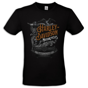 Maglietta uomo Harley Davidson vintage idea regalo t shirt moto biker