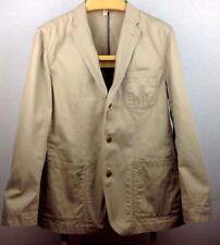 J.Crew Khaki Jacket Work Wear Beige Blazer Women's Size L EUC