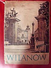 WILANÓW - 1955, POLISH KSIĄŻKA BOOK ALBUM, PHOTOS ________________