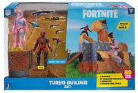 Fortnite Turbo Builder Set 2 Figure Pack Rabbit Raider and Vertex