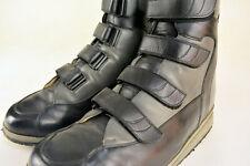 Orthopädische Stiefel Gr.43 44 beidseits versteifte Schäfte und Abrollsohlen