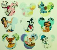 Unusual Mickey Mouse shaped Disney themed iron on Patches Fabric  motifs.