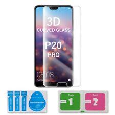 1x Huawei P20 Pro Curved Glas 3D Schutzglas Panzerglasfolie Displayschutz