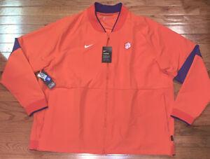 Clemson Tigers Men's Nike Sideline Performance Full-Zip Jacket 4XL NWT $140