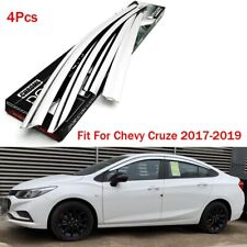 Chrome Side Window Wind Deflector Visor Rain Wind Guard Fit For Chevy Cruze 17+