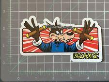 """2000 Vintage Birdhouse Skateboard sticker Brian Sumner 'Kamikaze Wolf"""""""