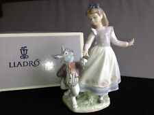 Lladro Alice In Wonderland *Very Rare*