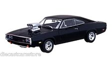 GREENLIGHT 2001 FAST & FURIOUS 1970 DOM'S DODGE CHARGER 1/43 BLACK 86201