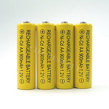 4 x AA 900mAh NiCd Ni-Cd Solar Rechargeable Battery KR6