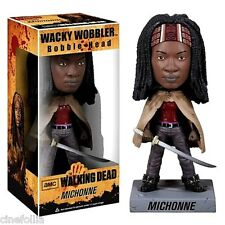 Bobble-head Michonne The Walking Dead ufficiale by Funko (scatola rovinata)