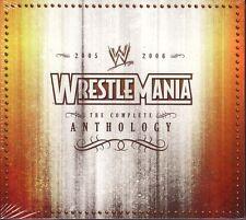 2 DISC DVD SET - WRESTLEMANIA 21 & 22 - WWE Wrestling WWF ANTHOLOGY - Brand New!