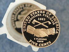 2004-S Jefferson Nickel Peace Gem DCAM Proof lot of 10 coins B9028