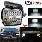 Dot 7x6 Rectangle Led Headlight Sealed Beam Replacement For Chevy Pickup Truck
