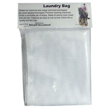 Mesh Laundry Bag for Polo Wrap or Track Standing Bandages Horse Equine Leg Wraps