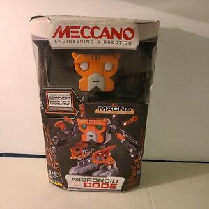 Meccano-Erector - Micronoid Code Magna Programmable Robot Building Kit *NEW*