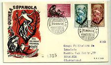SOBRE PRIMER DÍA. GUINEA ESPAÑOLA. DIA DEL SELLO COLONIAL. 1955