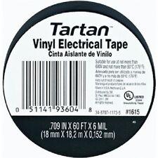 "3M 93604 Tartan Vinyl Electrical Tape .7"" X 60' 100 Rolls 1 case New Stock"