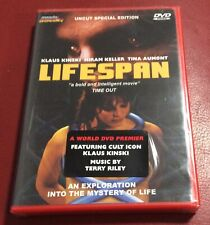 LIFESPAN Uncut Special Edition Mondo Macabro DVD New and Sealed