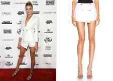 NEW BALMAIN SEXY WHITE SHORTS FR 36