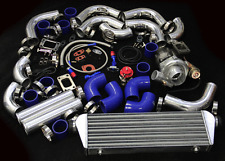 JDM V-BAND T3/T4 TURBO KIT FOR MIT ECLIPSE TALON 420A 4G63 4G64 1G 2G 3000GT DSM