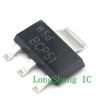 (10PCS) BCP51 TRANSISTOR PNP 45V 1.5A SOT-223 new