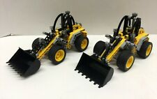 LEGO 8271 Technic Wheel Loader Set of Two (x2) Excellent Shape (No Box)