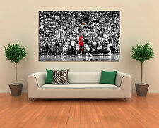 Michael Jordan Last Shot 3.2 Canvas Print - Bulls Championship 30 x 20