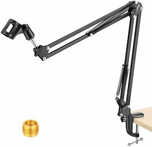 Neewer Adjustable Microphone Suspension Boom Scissor Compact Arm Stand Mic Stand