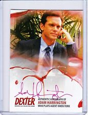 Dexter Season 5&6 Autograph Card AAH1 Adam Harrington