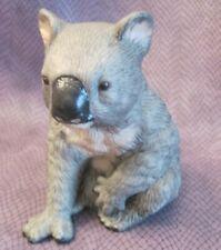 Vtg Royal Heritage Koala Bear Figurine Australia Porcelain Bisque Vgc