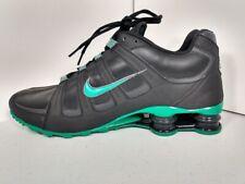 NIKE SHOX NZ Size 13 Mens Green and Black 2012 L@@K