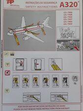 Saftycard tap air portgual tipo: a320