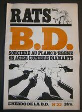 BD - L'HEBDO DE LA BD N°22 - TBE - Editions du Square - 06.03.1978