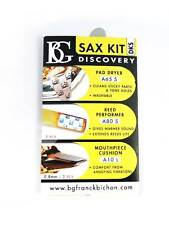 BG Alto/Soprano Saxophone Discovery Kit (Pad Dryer/Reed Savers/Mpce Cushions)