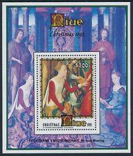 1992 NIUE CHRISTMAS $7 MINI SHEET FINE MINT MNH