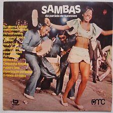 SAMBAS DE PARAIDA: Brazil Afro FUNK breaks VINYL LP obscure 1973