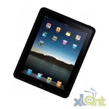 Apple iPad 1 Silikon Gummi Tasche Schutz Hülle Silicon Case Cover schwarz