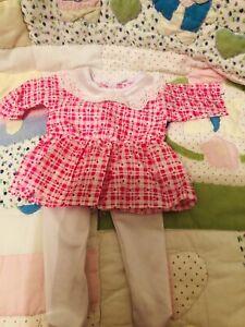 New Dress&tights Fits Baby Born