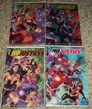 JUSTICE LEAGUE NO JUSTICE 1 2 3 4 1ST PRINTS NM Batman Flash Superman 1-4