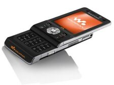 Sony Ericsson Walkman W910i - Silk Black (Unlocked) Mobile Phone UK Stock 🇬🇧