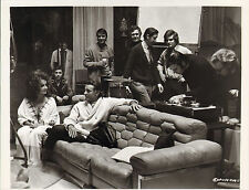 elizabeth taylor & richard burton.modern glossy photo - with crew or guests ?